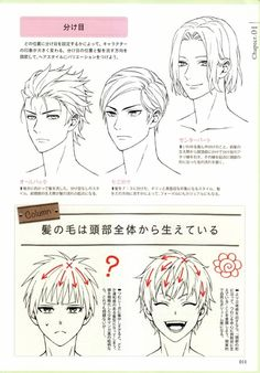 Drawing Hair Tutorial, Manga Drawing Tutorials, Manga Tutorial, Drawing Reference Poses, Drawing Poses, Drawing Tips, Digital Painting Tutorials, Digital Art Tutorial, Ponytail Drawing