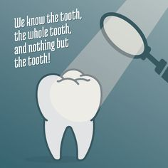 EACH TOOTH tells a story about its owner—about diet, lifestyle, and overall well-being. Many chronic health issues can be detected early with regular dental checkups! #parkridgedentist #familydentist