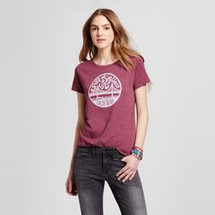 Women's San Francisco Local Pride Golden Days Tee Xxl - Burgundy (Juniors'), Purple