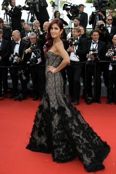 "Bollywood at Cannes - Katrina Kaif at the opening ceremony and the screening of the film ""La Tete Haute (Standing Tall)"" in 2015."