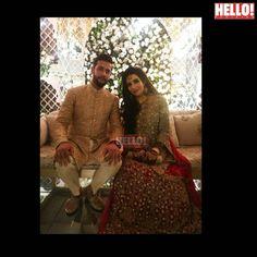 Pakistani Bridal Wear, Desi Wedding, Beautiful Wife, More Pictures, Cricket, Couple Photos, Pakistani Bridal Dresses, Couple Shots, Cricket Sport