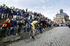 """The annual Ronde Van Vlaanderen (Tour of Flanders) is Belgium's most famous cycle race and attracts all the world's top competitors."" Flanders: the Bradt Guide; www.bradtguides.com"