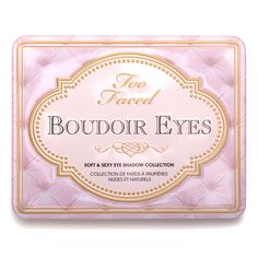Too Faced Boudoir Eyes Shadow Collection | Beautylish