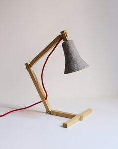 This series of desk lamps is inspired by the metamorphosis produced by Nature…