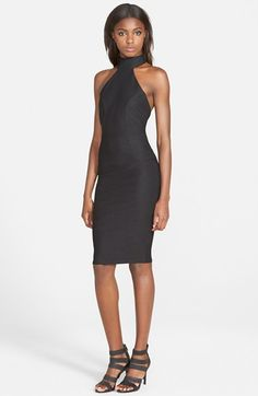 MISSGUIDED High Neck Midi Dress available at #Nordstrom