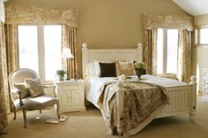 french country bedroom - Google Search
