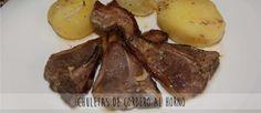 #Receta de chuletas de cordero al horno. Descubre cómo prepararla