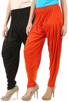Ethnic Bottomwear - Patiala Pants Stylish Women's Patiala Pants Fabric: Cotton Viscose Size: XL - 34 in  XXL - 36 in  Length: Up To 40 in Type: Stitched Description: It Has 2 Pieces Of Women's Patiala Pants Pattern: Solid Country of Origin: India Sizes Available: 32, 34, 36, 38, 40, 42, 44, 46   Catalog Rating: ★3.9 (241)  Catalog Name: Women Patiala Pants CatalogID_816789 C74-SC1018 Code: 373-5475314-609