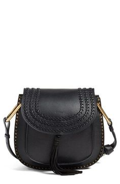 Chloe 'Medium Hudson' Tassel Leather Shoulder Bag