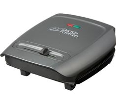 Buy George Foreman 18851 3 Portion Variable Temperature Grill at Argos.co.uk, visit Argos.co.uk to shop online for Health grills, Small kitchen appliances, Kitchen electricals, Home and garden