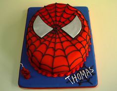 Torta del Hombre Araña - Spiderman - Paso a paso