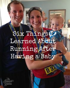 Whether you were a running before you had a baby or not, running is an attractive exercise option for moms. It is much easier to lace up your shoes run out the door than going to a gym.