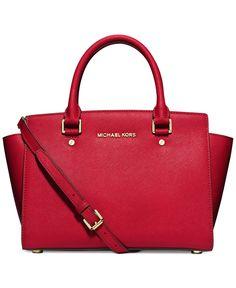 59e2d195a25c4f MICHAEL Michael Kors Selma Medium Satchel & Reviews - Handbags &  Accessories - Macy's