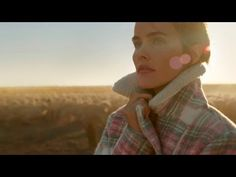 Reminds me of the Karoo - incredibly beautiful. Isabel Lucas in 'Life Through Wool' by Country Road and The Woolmark Company