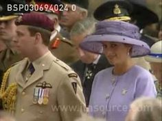 3 June 1994 Princess Diana at Canadian War Memorial  The Queen unveiled a memorial to Canadian Army war dead in Green Park today. Diana made only her second official appearance of 1994.