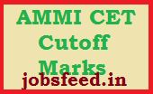 AMMI CET Cutoff Marks 2014 Download Merit List, Counselling Dates
