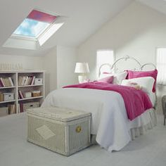contemporary bedroom by VELUX
