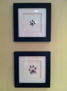 cute art of paw prints