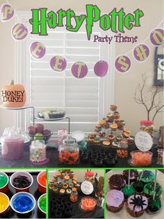 Harry Potter Party Theme. Oh this us, so cute.