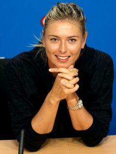 Maria Sharapova, Backswept bob with ponytail, bob haircut, bob haircut, bob hairstyles