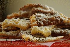 Chiacchere bicolori #carnevale #recipe #recipes #italianrecipe #crostoli #frappe #italianrecipe
