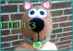 Find More Hats & Caps Information about free shipping,New Cute handmade Cartoon scooby doo dog Style Baby Children Crochet Knit Earflap Cap Warm Ear Hat 100% cotton,High Quality hats football,China cotton romper Suppliers, Cheap cotton knit hat from  crochet baby hats on Aliexpress.com
