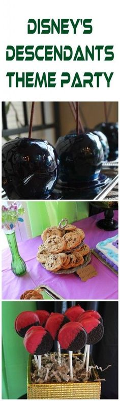 Disney Descendants Theme Party Ideas