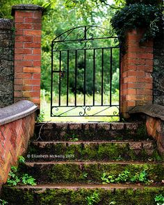 The Open Gate | Fine Art Photograph countryside by WeeKitchen, $15.00