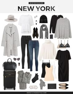 winter outfits new york By request, I have a new packing post to share! As winter is approaching in New York I thought Id create a packing inspiration collage especially for it. When I think of New York, Gossip Girl always Mode Outfits, Casual Outfits, Fashion Outfits, Womens Fashion, Fashion Trends, City Outfits, Fashion 2016, Fashion Blogs, Fashion Weeks