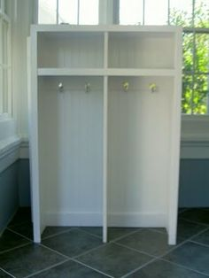 Finally! Plans on how to actually build the mudroom cubbies! Please, oh, please....