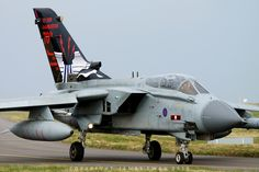 https://flic.kr/p/NXHjSz | Royal Air Force  Panavia Tornado GR4 ZA412 (617 Sqn 'Dambusters' 70th Anniversary) - XV(R) - RAF Lossiemouth