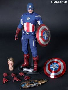 The Avengers: Captain America - Deluxe Figur, Fertig-Modell ... http://spaceart.de/produkte/tav002.php