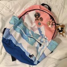 enya's bookbag is goals