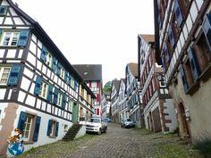 Schlossbergstrasse Street - Schiltach (Germany)