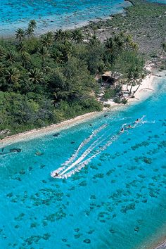 Top Honeymoon Destinations - Like jet skiing through Bora Bora!