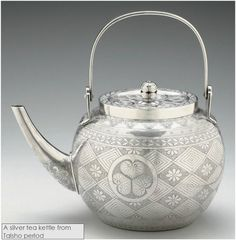 silver kettle