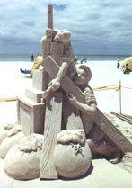 Sand Sculpting Contests