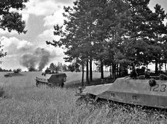 Wiking SPW attack Poland 1944