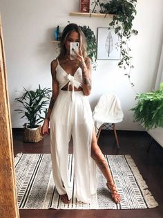Rustic Summer Outfit Ideas To Looks Classic Right Now - Spring Summer Fashion, Spring Outfits, Trendy Outfits, Cute Outfits, Summer Outfit, Brunch Outfit, Boohoo Outfits, Boho Fashion, Fashion Outfits