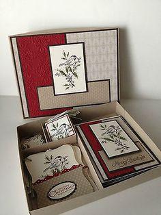 Stampin' Up Beautiful Season Cards & Tags Box Set - handmade