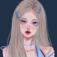 Cartoon Girl Images, Girl Cartoon, Cartoon Art, Manga Kawaii, Chica Anime Manga, Digital Art Anime, Digital Art Girl, Anime Girl Cute, Anime Art Girl