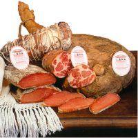 Die Wurst- und Schinkenprodukte Sardiniens sind von besonderem Geschmack und Qualität,