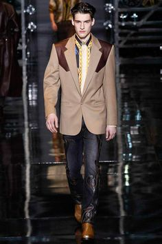 Versace   Fall 2014 Menswear Collection   Style.com