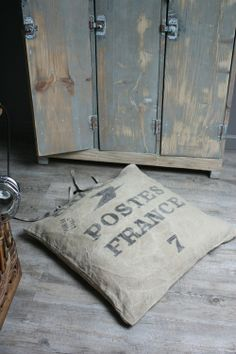 French mail bag and lockers