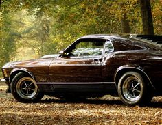 ford mustang at autumn Year '78 ★ .... This is Ben's car but his is a different color..