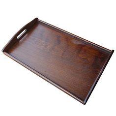 Wooden Serving Tray//Box 60 cm x 40 cm x 13 cm For Decoupage