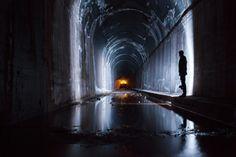 Exploring Underground Tunnels in #SanFrancisco | © Evan Thompson | #Photography #California