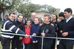 EN EL CENTRO DE EDUCACIÓN FÍSICA Nº 18: El gobernador Colombi inauguró la primera cancha adaptada para futbolistas ciegos de la provincia #VamosParaAdelante