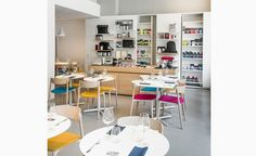 Moleskine has opened a two-story café in Milan's Brera design district