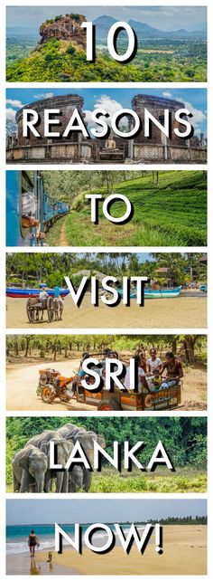 Sri Lanka is a diverse and tropical island below the southern tip of India. If you need some convincing to go, here's our 10 reasons to visit Sri Lanka. | Best of Sri Lanka | Backpacking Sri Lanka | Sri Lanka on a Budget | Sri Lanka Highlights | Best bits of Sri Lanka | Top attractions in Sri Lanka | Sri Lanka Beaches | Sri Lanka Hikes | Sri Lankan Food